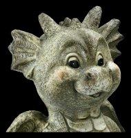 Gartenfigur - Meditierender Drache