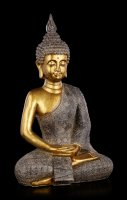 Buddha Figurine - gold colored