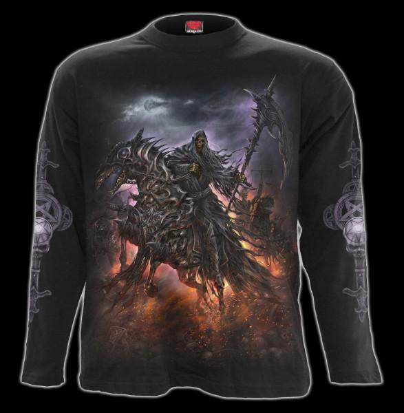 Langarmshirt Fantasy Reaper - 4 Horsemen
