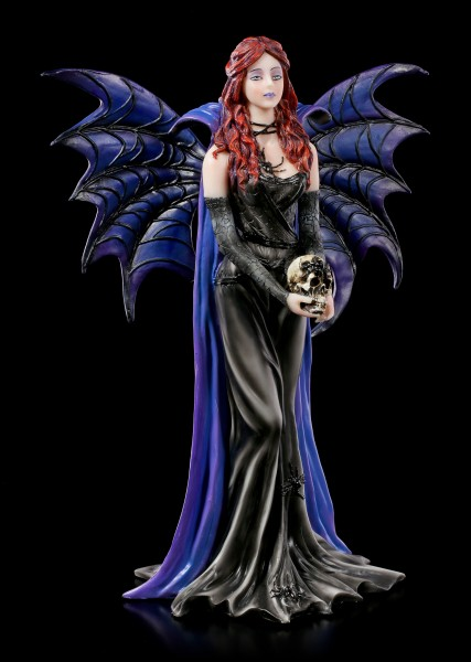 Dark Angel Figurine - Rachel with Skull