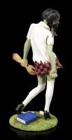Zombie Figur - Schulmädchen mit abgetrennten Arm