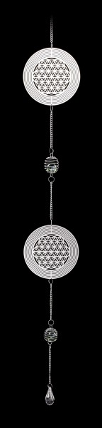 Metal Dreamcatcher - Flower of Life