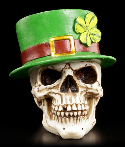 Irischer Totenkopf mit abnehmbarem Zylinder
