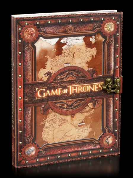 Großes Game of Thrones Notizbuch - Seven Kingdoms