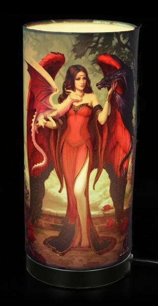 Table Lamp - Dragon Mistress