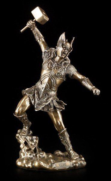 Thor Figurine - Fighting