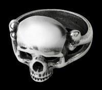 Alchemy Totenkopf Ring - Memoria Mortalis