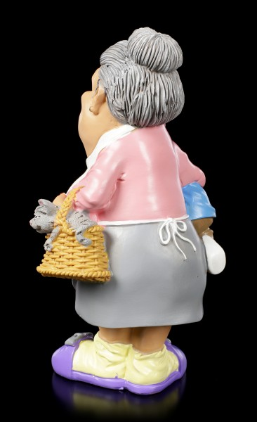 Funny Family Figurine - Granny with Rascal