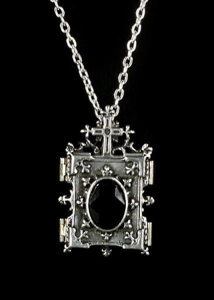 Orthadox Icon Locket - Alchemy Gothic Halskette