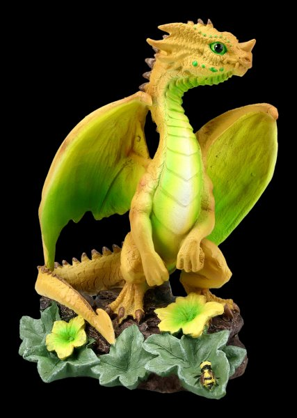 Dragon Figurine - Honeydew