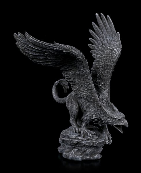Black Griffin Figurine