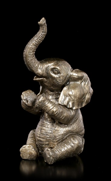 Elephant Figurine - Applauding