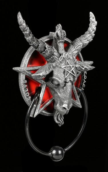 Door Knocker - Baphomet with Pentagram