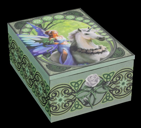 Tarot Box mit Einhorn - Realm of Enchantment