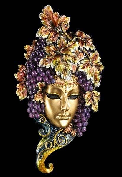 Venetian Ball Mask - Bacchus