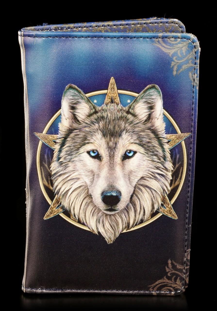 Geldbörse mit Wolf - Wild One