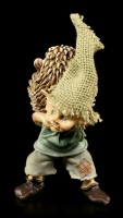 Pixie Kobold Figur mit Igel - Du stachelst...
