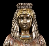 Egyptian Bust - Cleopatra bronzed
