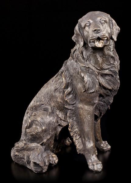 Hunde Figur - Sitzende Retriever Hündin