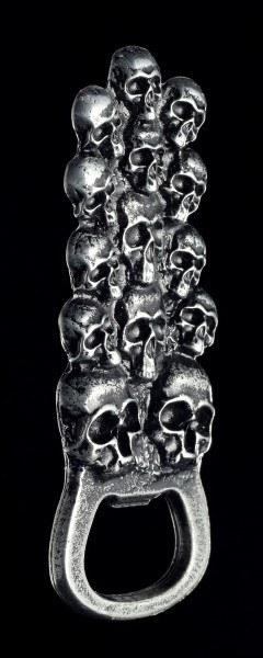 Bottle Opener - Skull Mountain as Fridge Magnet