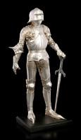 Knight Figurine - Sword left on Pedestal