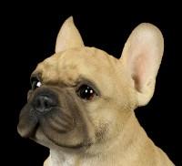 Dog Figurine - French Bulldog Puppy