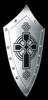 Knights Shield with Celtic Cross