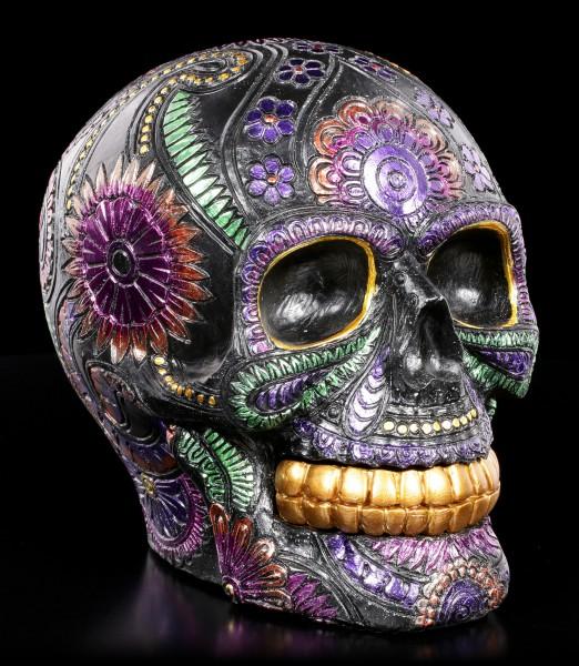 Mexikanischer Totenkopf - Black Blossom