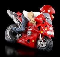 Funny Job Figur - Motorrad Rennfahrer