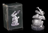 Incense Cone Holder - Silver Dragon