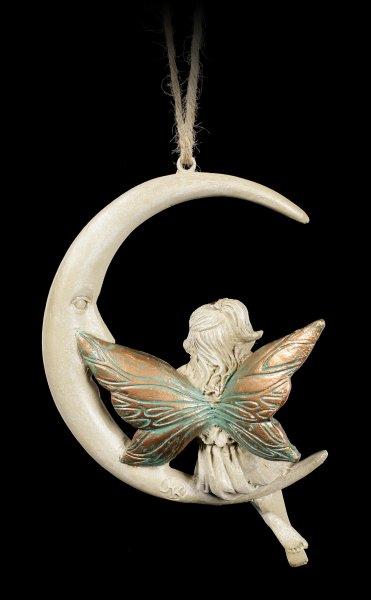 Elfen Figur auf Mond - Faye