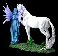 Elfen Figur - Mythica mit Einhorn