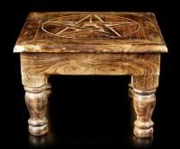 Altar Table - Pentagram