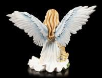 Angel Figurine - Nariel with Tiger Babies