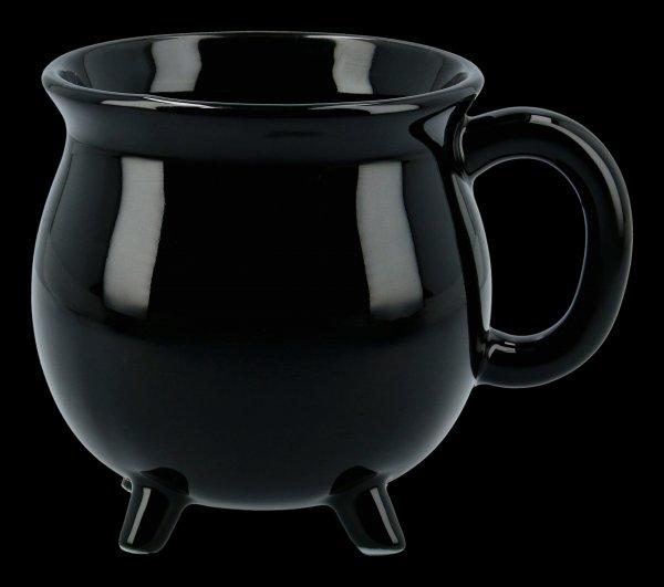 Porcelain Mug - Black Cauldron