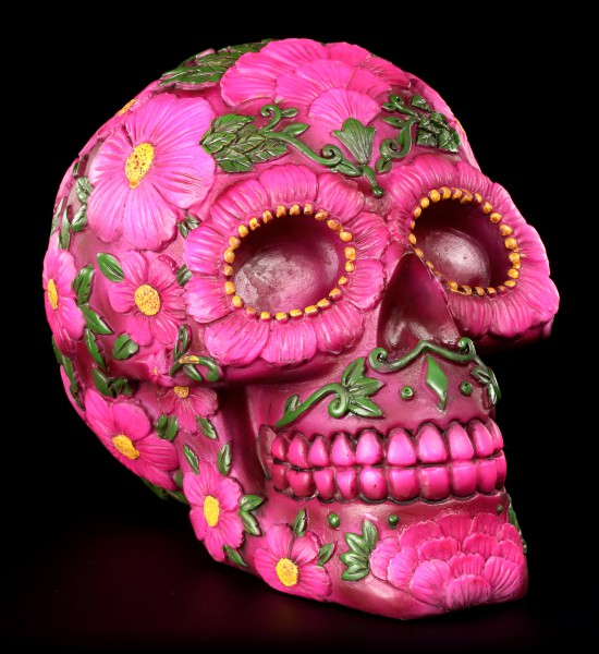 Money Bank - Sugar Blossom Skull