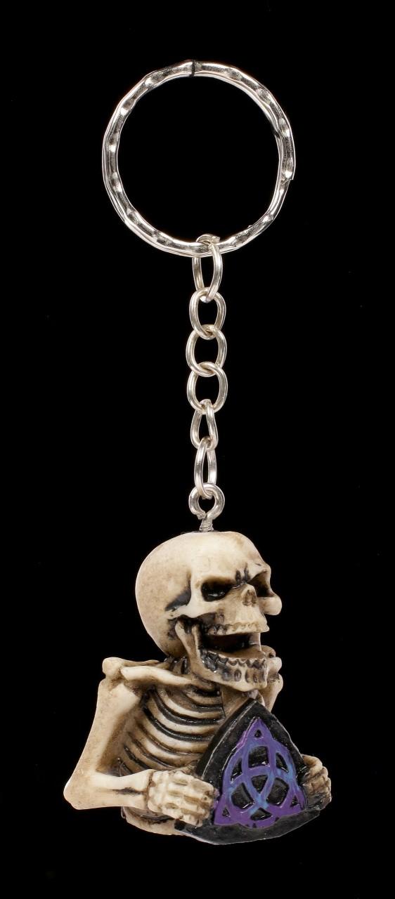 Skelett Schlüsselanhänger - Figuren-Shop.de
