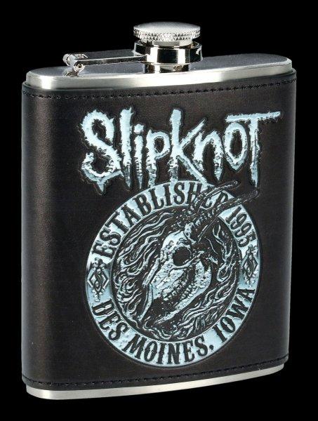 Slipknot Flachmann - Flaming Goat