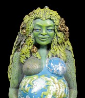 Millennial Gaia Figurine - Mother Earth