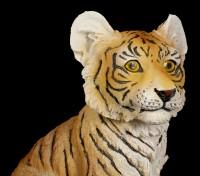 Tiger Baby Figur - Sitzend