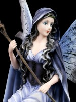 Fairy Figurine - Magicienne with Owl
