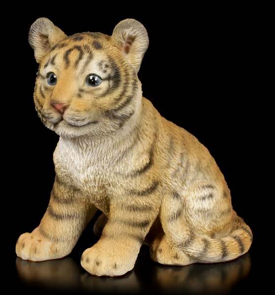 Garden Figurine - Little Tiger Puppy
