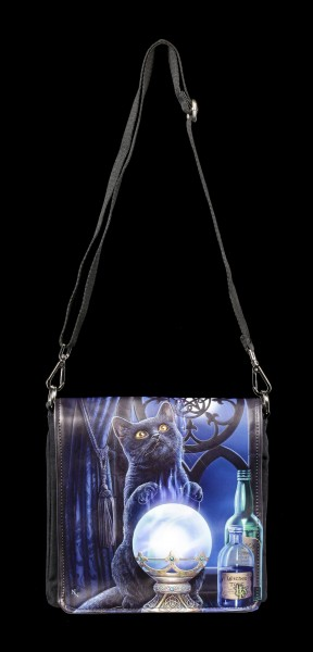 Shoulder Bag with Cat - The Witches Apprentice