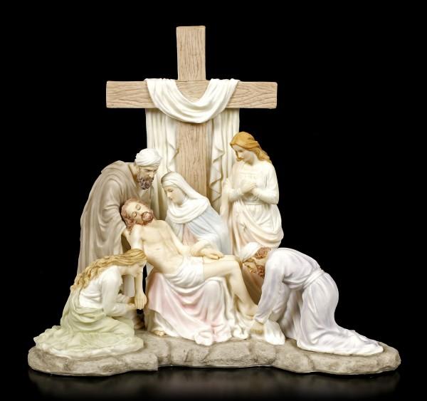 Jesus Figur - Abnahme vom Kreuz - Kalvarienberg