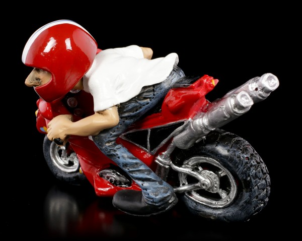 Funny Job Figurine - Motorcycle Racer