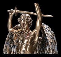 Erzengel Figur - Heiliger Michael siegt über Teufel