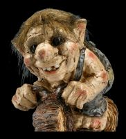 Troll Figurine Set of 2 - Biker