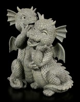 Dragon Couple Garden Figurines - Love Whispers