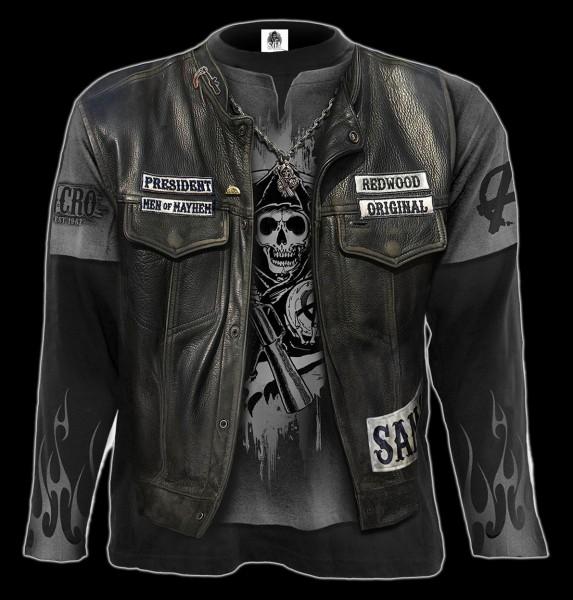 Sons of Anarchy Langarmshirt - Jax Kutte