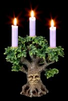 Greenman Candle Holder - Forest Flame